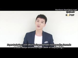 140829 Super Junior Leeteuk'tan Özel Bir Mesaj (Türkçe Altyazılı)