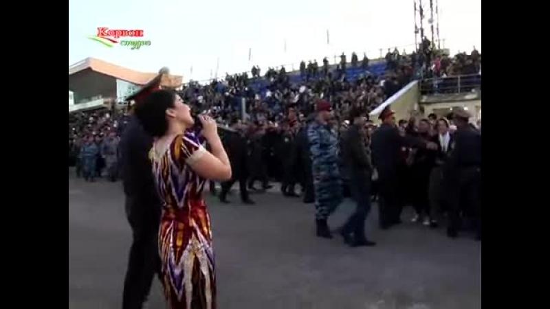 Нигина Амонкулова дар Истаравшан Nigina Amonqulova in Istaravshan