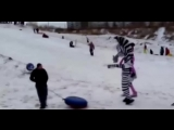 Лунтик, лев Алекс и зебра Мартин избили Красноярца :)