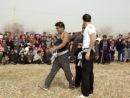 Туркменская национальная борьба на поясах
