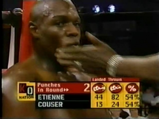 2000-09-09 Clifford Etienne vs Cliff Couser (vacant NABF Heavyweight Title)