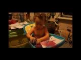 Вот такой милый видеоролик о любимых малышах можно сделать на заказ