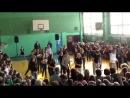 Флэшмоб в 12 школе на День учителя. Орехово-Зуево