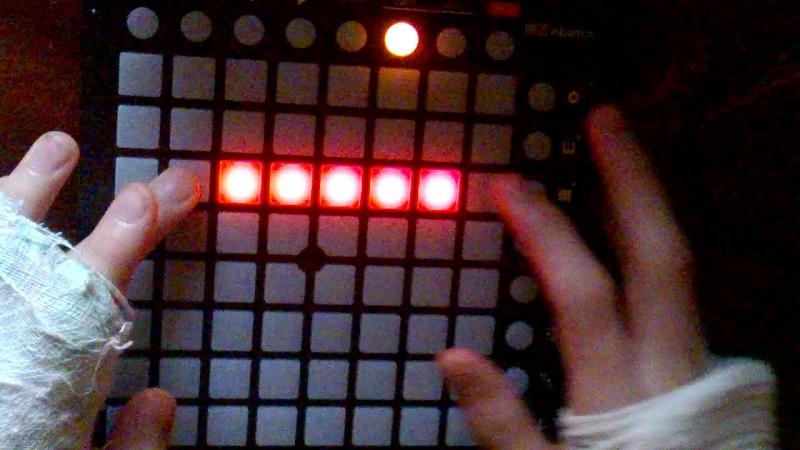 Holdion' on (Skrilex Remix) Launchpad cover (не завершенный проект)