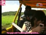 [Eng subs] SNSD Tiffany Gets Scared By Dirt :D