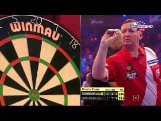 Glen Durrant vs Karel Sedláček (BDO World Darts Championship 2015 / Round 1)
