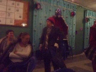 Новогодний огонёк в сельском клубе Элисенваара