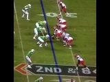 Arizona center pukes on the ball, then snaps it