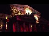 Циклическое световое шоу – видеомэппинг «Кругосветное путешествие» на фасаде Большого театра.14.10.2014