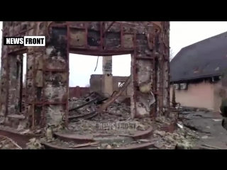 2015.02.04 - (18+) Последствия штурма Углегорска. 04.02.2015 (18+)