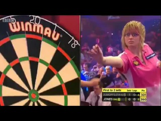 Anastasia Dobromyslova vs Zoe Jones (BDO World Darts Championship 2015 / Quarter Final)