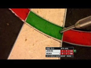 Terry Jenkins vs John Weber (PDC World Darts Championship 2015 / Round 1)