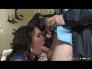 Jessica Jaymes criminal husband watches her fuck a cop| Brunette Blowjob Riding Doggystyle Cumshot Facial Reverse cowgirl