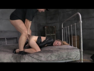 SexuallyBroken.com_ Emma Haize is straightjacketed and ragdoll fucked hard by 2 big cocks, massive squirting orgasms!! (