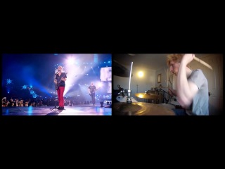 Muse - Live in Rome (x10 Drum Covers) - Inc. Supremacy, Knights of Cydonia Time is Running Out