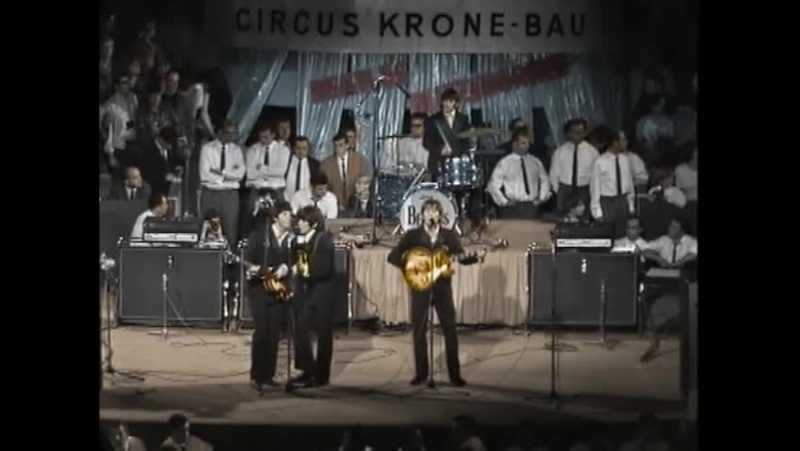 The Beatles 1966.06.24 Circus Krone-Bau, München (Fragment in Color)