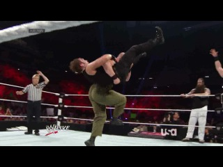 (WWEWM) WWE Monday Night RAW 09.06.2014: John Cena, Dean Ambrose & Roman Reigns vs. The Wyatt Family