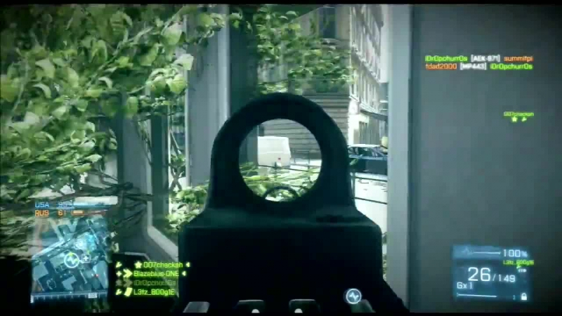 Battlefield 3 Traversee De La Seine(Music Video The Writer)