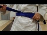 Мастер класс: как правильно завязать пояс дзюдоиста.