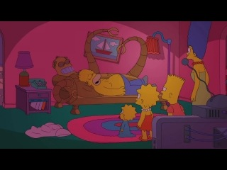 """Couch gag from """"simpsorama""""   the simpsons   animation on fox"""