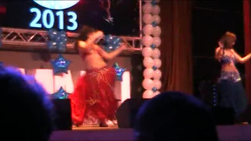 танец ангел и демон космофест 2013 Новикова Ольга и Копыченкова Екатерина
