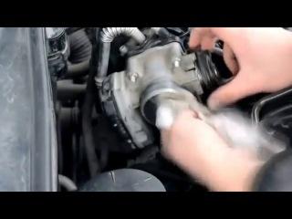 Чистка дроссельной заслонки (дросселя) в Chevrolet Lacetti (Шевроле Лачетти)