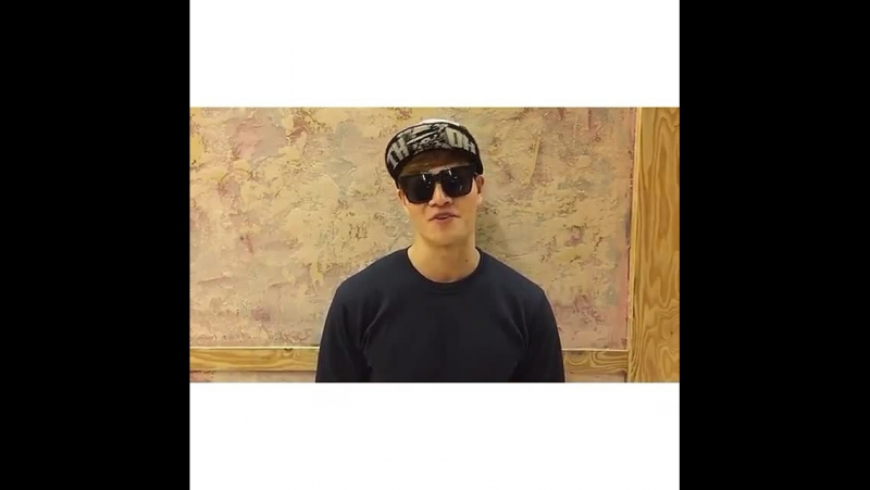 04/02/2015 Kim Jongkook's shoutout video for DramaFever Awards in NewYork