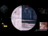Warface: Снайперский пулемет в деле! Calico M951S