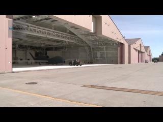RQ-4 Global Hawk UAV launching, landing, taxiing and maintenance