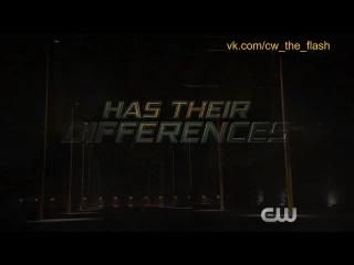 The Flash - FLASH VS. ARROW Trailer RUS_SUB