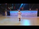 выступление Ксюши на вечере Школы Танца-