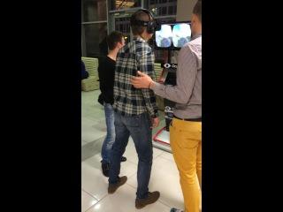 Аттракцион Виртуальной реальности Oculus Rift. ТЦ Gulliver 5этаж!