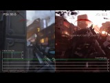 [60fps] Call of Duty- Advanced Warfare PS4 vs Xbox One Campaign Frame-Rate Test