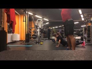 WOD 21-15-9 Burpee,Kettlebell Swing,Sit-ups