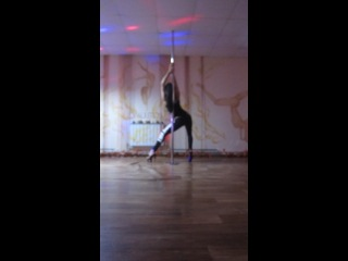 ShuMARINA pole exotic. начало танца. продолжение следует на тренировках каждый вторник и четверг в 19.00!