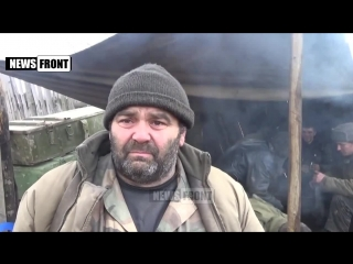 Артиллеристы батальона «Кальмиус» на передовой. News-Front