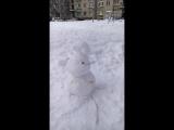 Как побить с вертухи снеговика