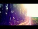 Almina Lebedeva star in the forest