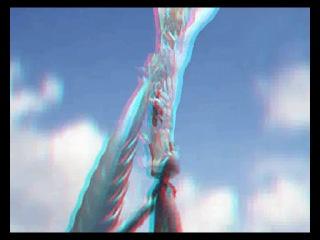 анимэ клип по фильму ,,последняя фантазия Х,.(3д-анаглиф)