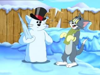 Tom si Jerry-Romana 8x6 Bataie cu zapada