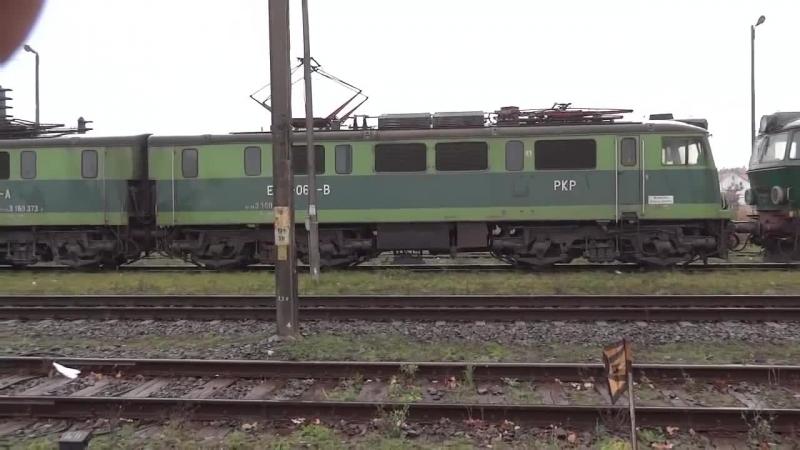 Pociagi towarowe na stacji Poznan Krzesiny.