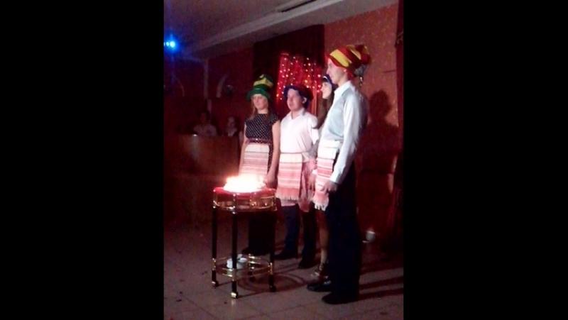 Свадьба Юленьки и Леши Тоооорт