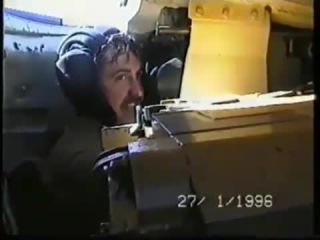 Внутри танка Т-72