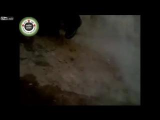 Меткий выстрел танка. Война в Сирии