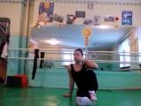 SLs Даяна Ерёмина:) Как научиться делать прыжок в шпагат с опорой на руку