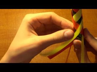 Оригами видео ловушка для пальцев