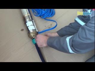 Выбор, обвязка и установка насоса в скважину.