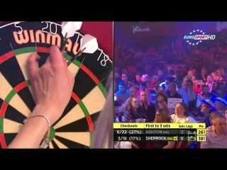 Lisa Ashton vs Fallon Sherrock (BDO World Darts Championship 2015 / Final)