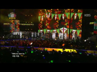 [12.11.14] All Artists - LA BAMBA @ Music Bank in Mexico