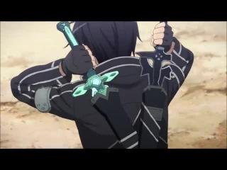 Мастера меча онлайн  Sword Art Online  Искусство меча онлайн  SAO - Клип AMV - skillet - rise